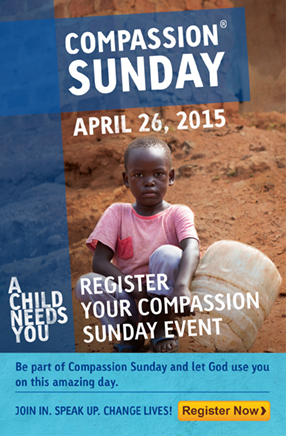 Compassion Sunday Register Event