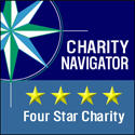 Charity Navigator 4 Star Rated Charity