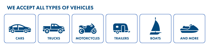 Types of vehicles that can be donated to charity
