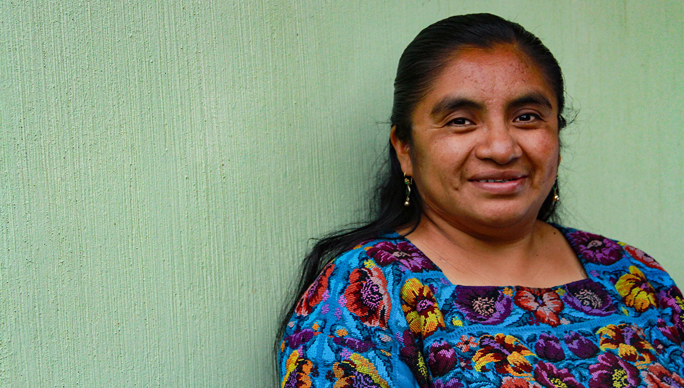 Blanca is happy to be a teacher in Guatemala