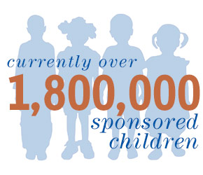 What makes Compassion distinct? Compassion is child focused with over 1.7 million sponsored children.
