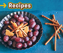 Kid's Recipe: Fire Pit Snack