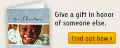 Give a Gift in Honor of Someone Else