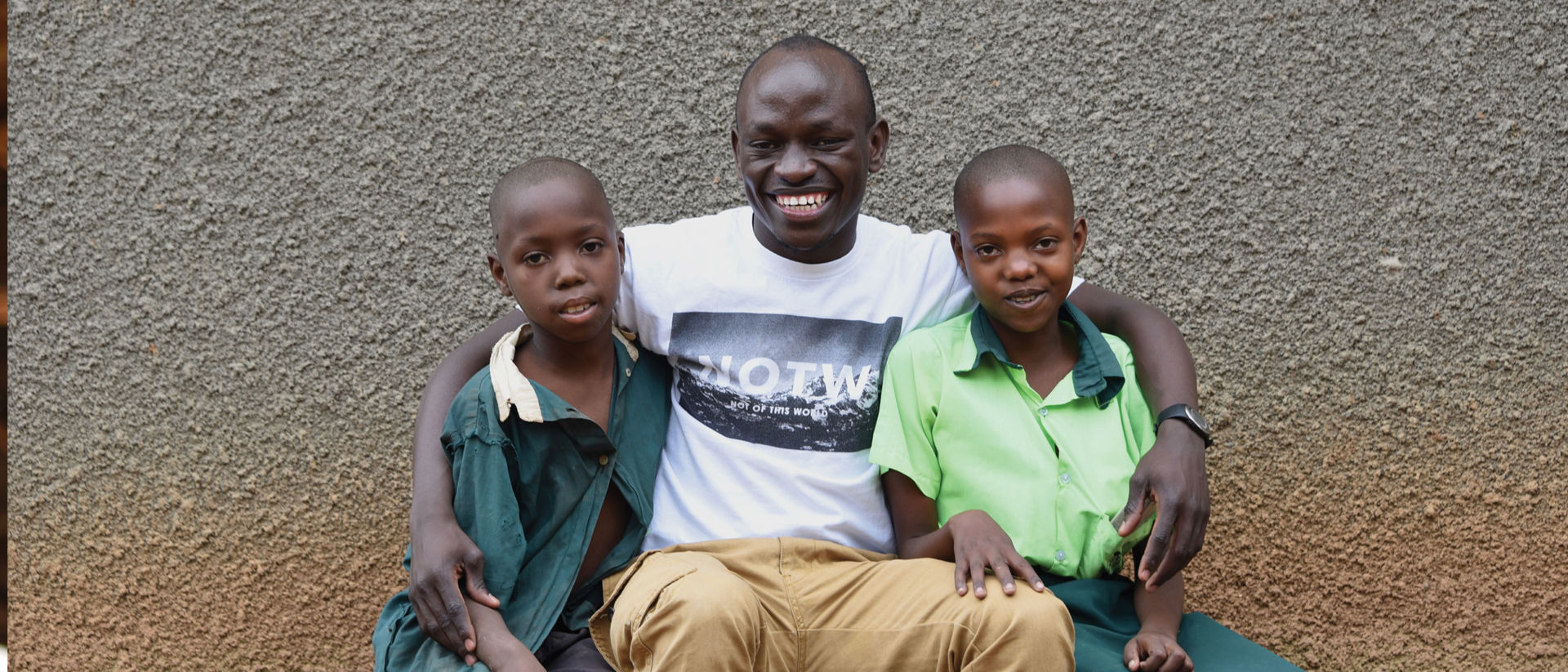 Peter's nonprofit in Uganda focuses on keeping children in school and safe