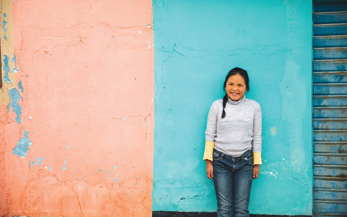 Yanina loves attending her Compassion center and receiving letters from her sponsor