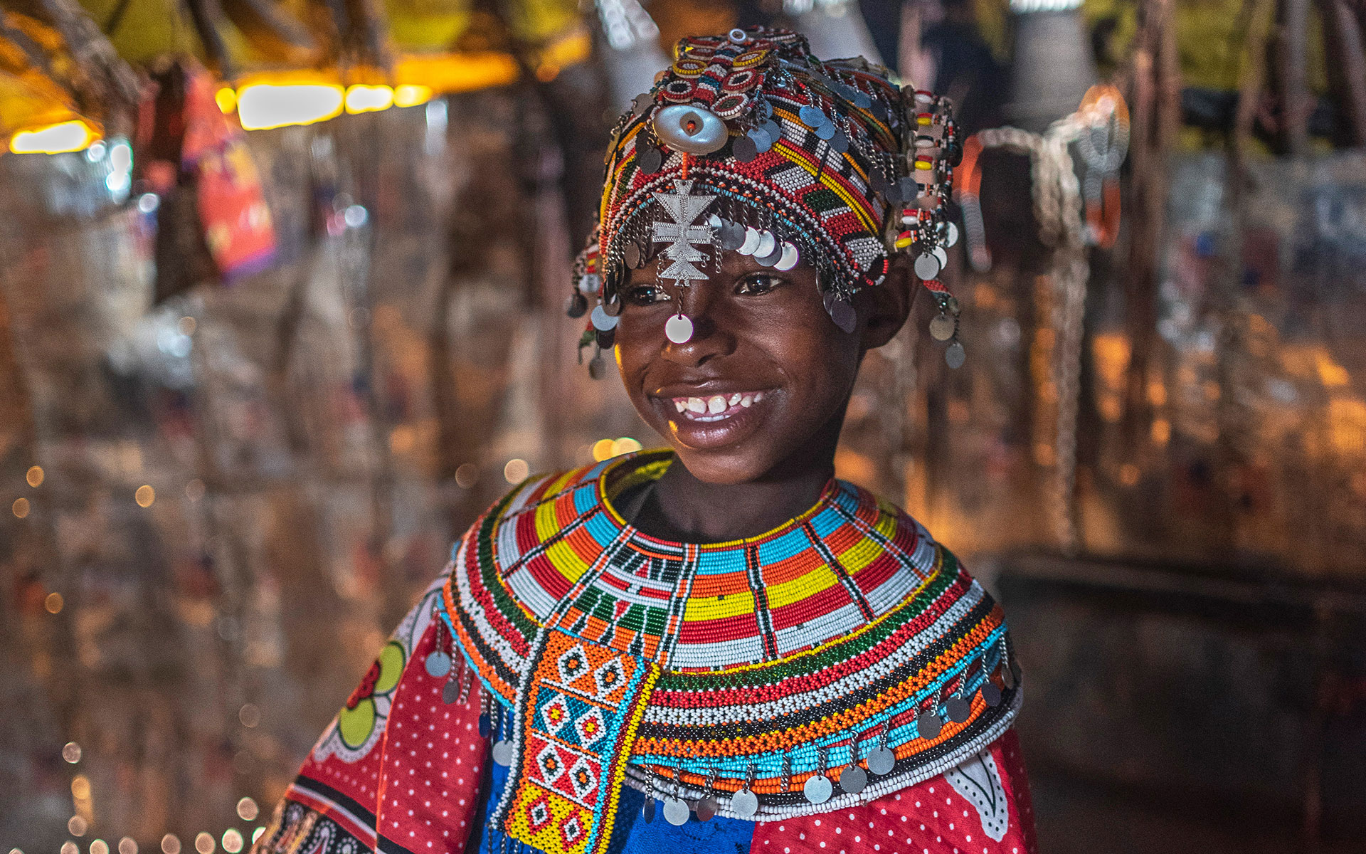Maindi is an 8-year-old in Kenya