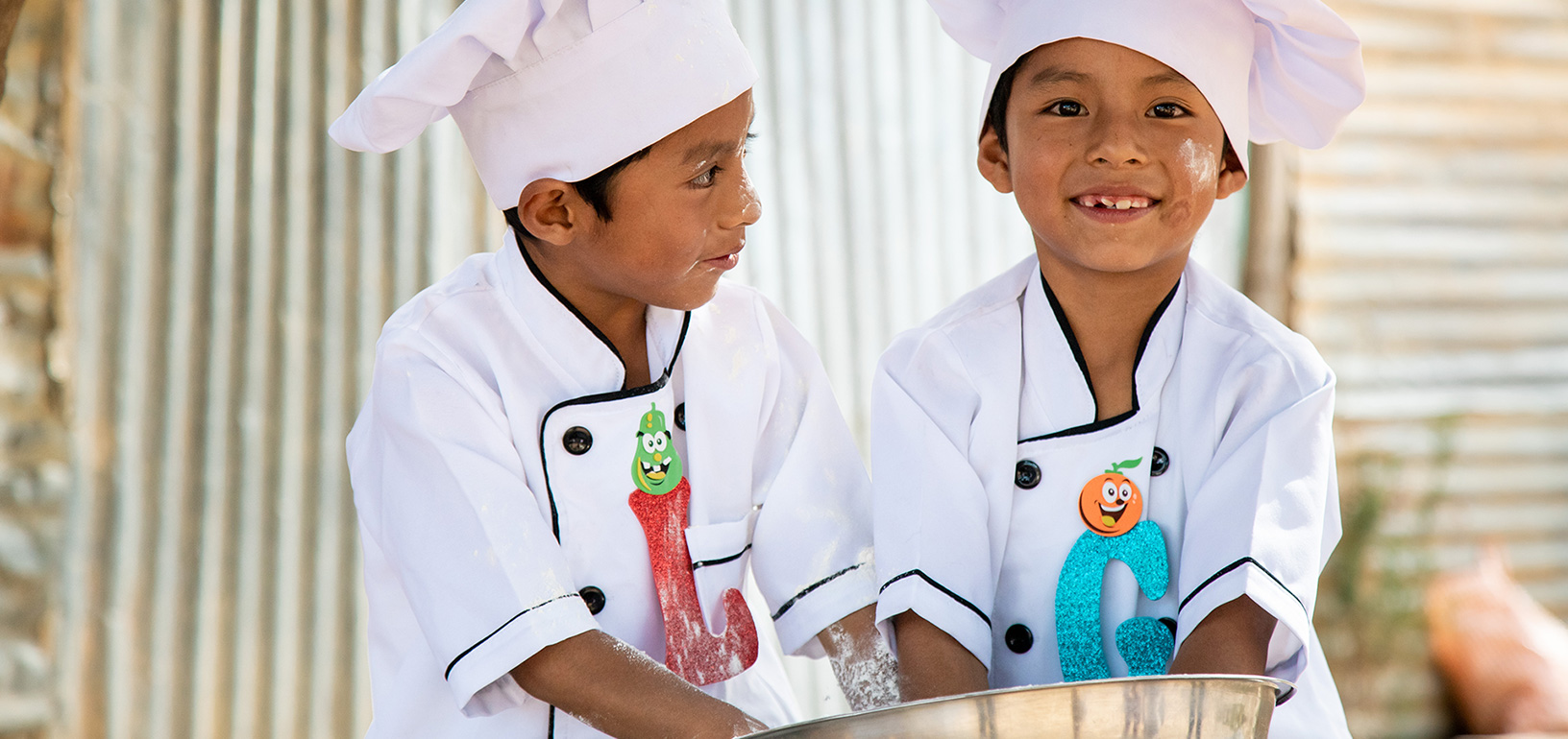 Gabriel and Leonal want to be chefs