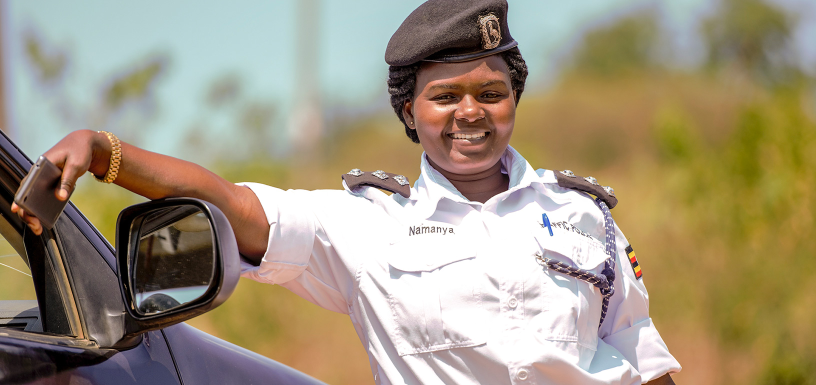 Doreen works as a police officer