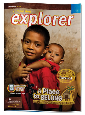 Compassion Explorer Magazine Summer 2015 cover