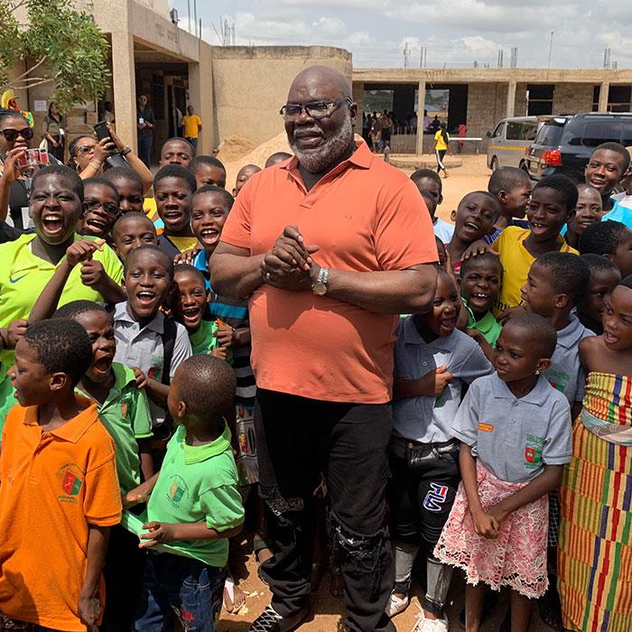 Bishop T D  Jakes - Compassion International