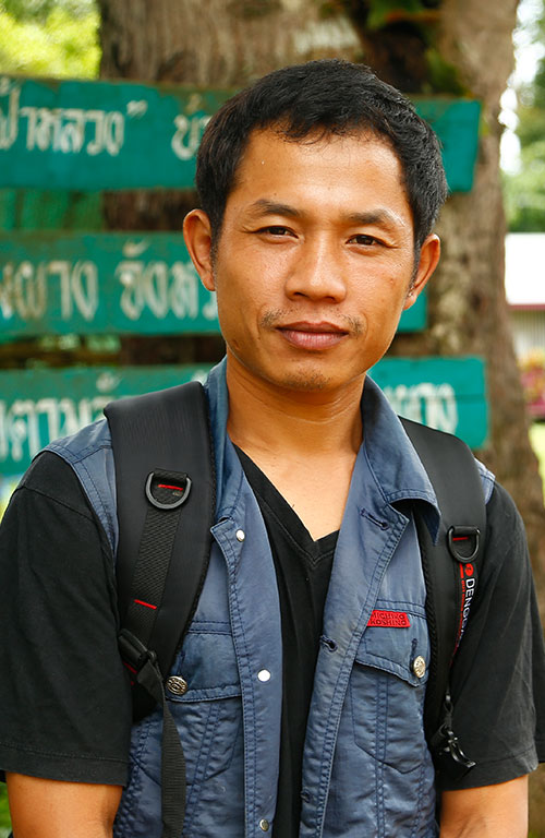 Sayan Kangkiew works with the local church in Kotah to help sponsored children.