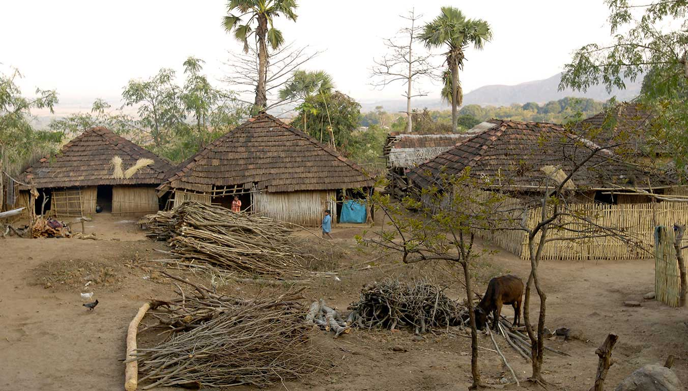 An Indian village shares resources