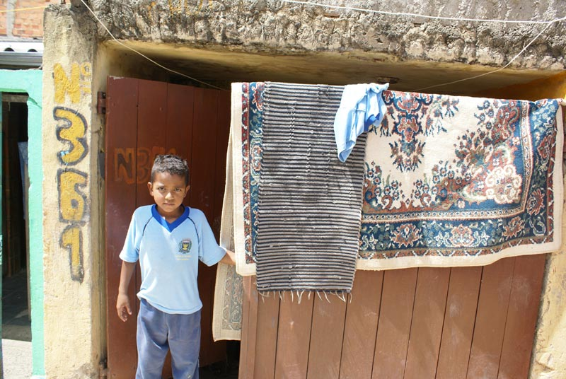Brazil Boy Standing at Home