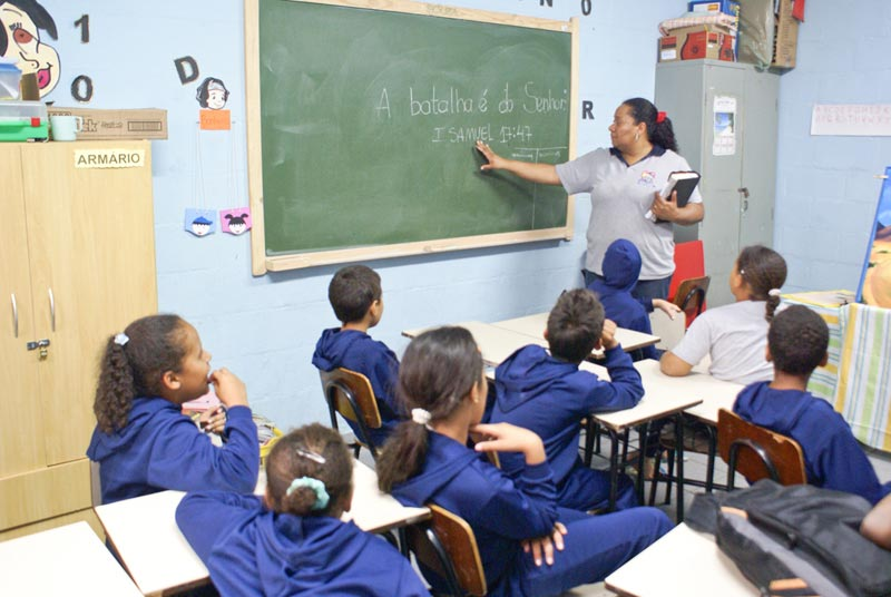 Brazil Children in Class
