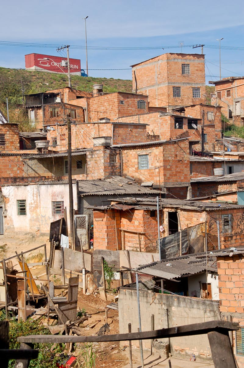 Brazil Homes on Hill