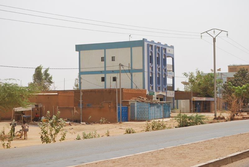 Burkina Faso Building Near Road