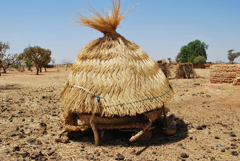 Burkina Faso Small Round Hut