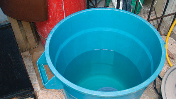 Colombia Bucket of Water