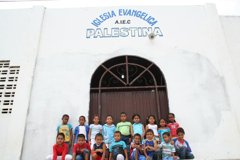Colombia Children at Center