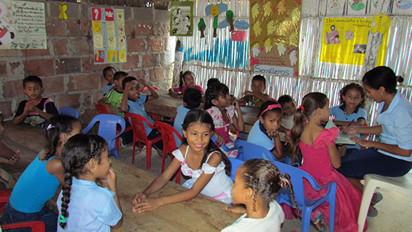 Colombia Children in the Classroom