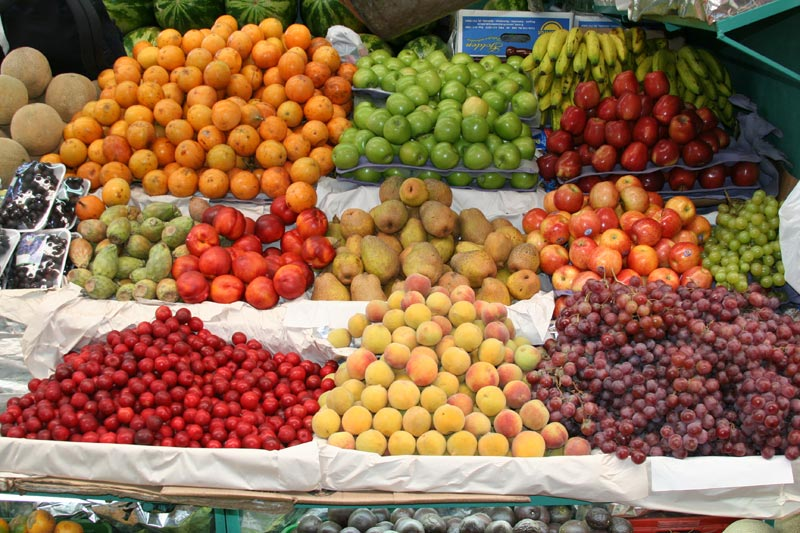 Colombia Fruit Stand