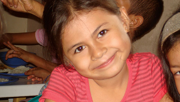 Colombia Smiling Girl Closeup