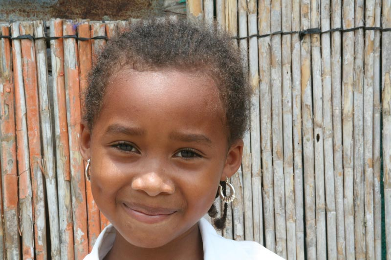 Colombia Smiling Girl