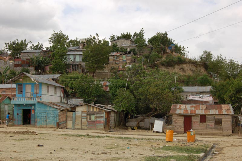Dominican Republic Homes on Hill