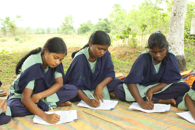 East India Girls Writing To Their Sponsors