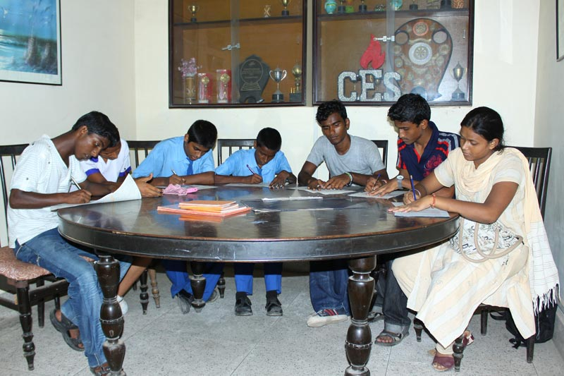 East India students writing sponsor letters