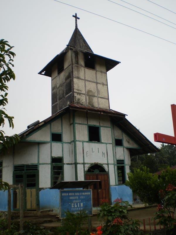 East Indonesia church building