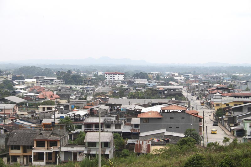 Ecuador View of City