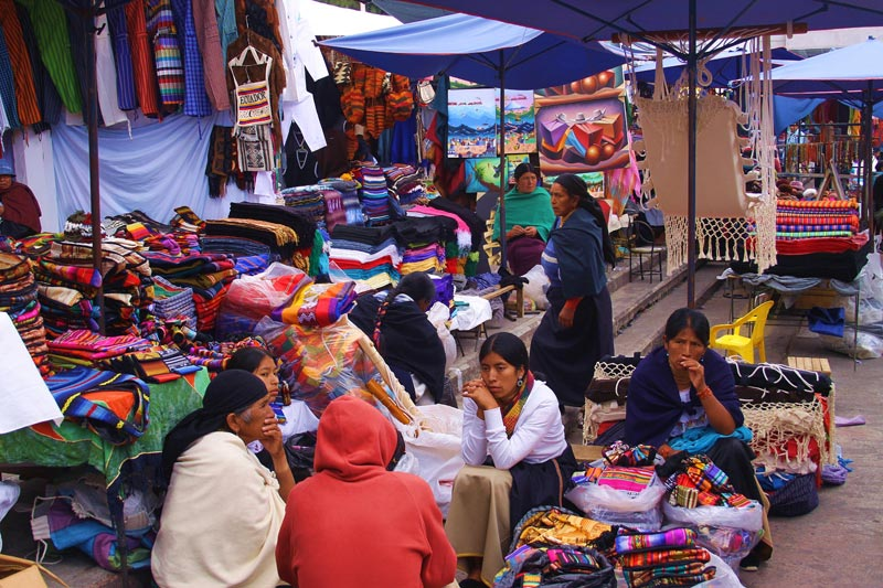 Ecuador Women in Market