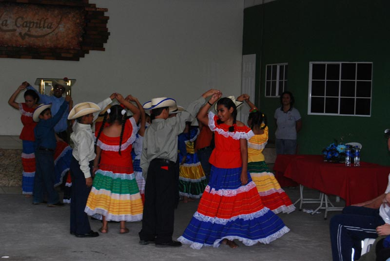 El Salvador Children Dancing in Traditional Dress