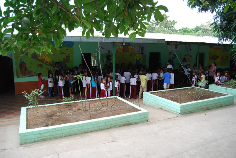 El Salvador Children Outside Center