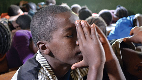 Ethiopia Boy Praying