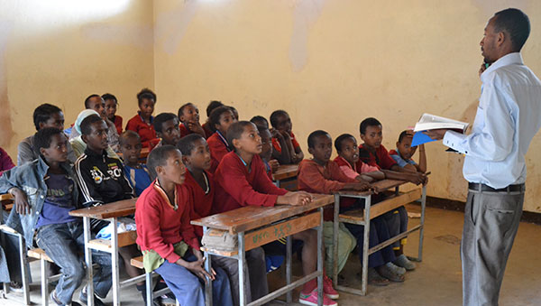 Ethiopia Children in the Classroom