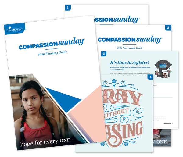 Image of Compassion Sunday planning guide