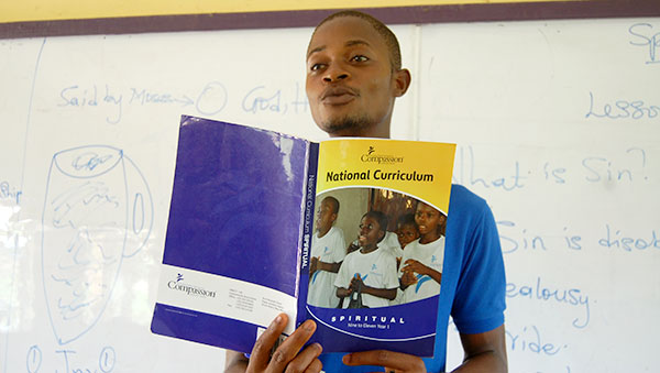 Ghana Teacher with Compassion Curriculum