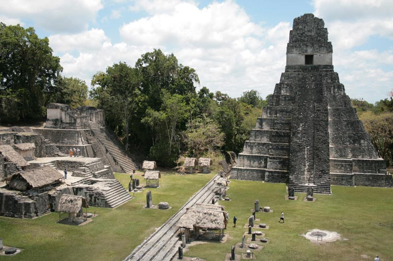 Guatemala Ancient Ruins