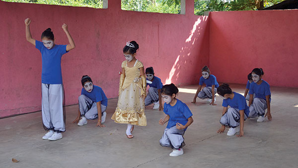 Guatemala Children Dancing
