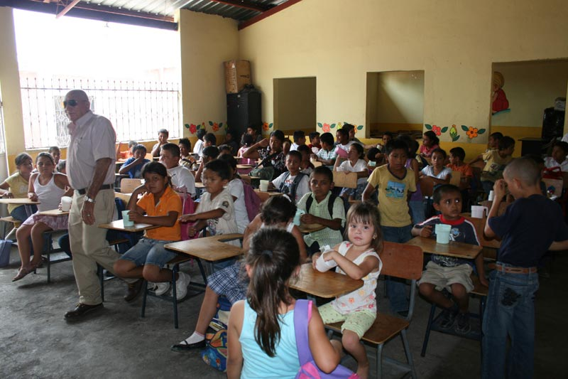 Guatemala Children in Classroom