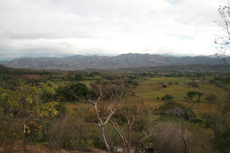 Guatemala Countryside with Mountains