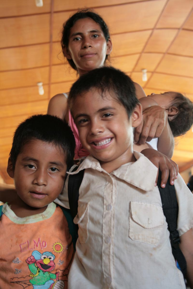 Guatemala Smiling Boy with Friend