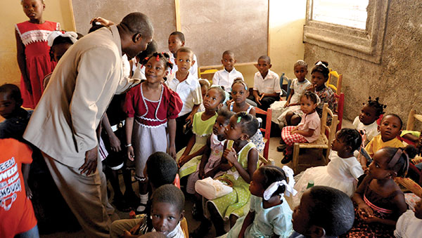 Haiti Children in Classroom