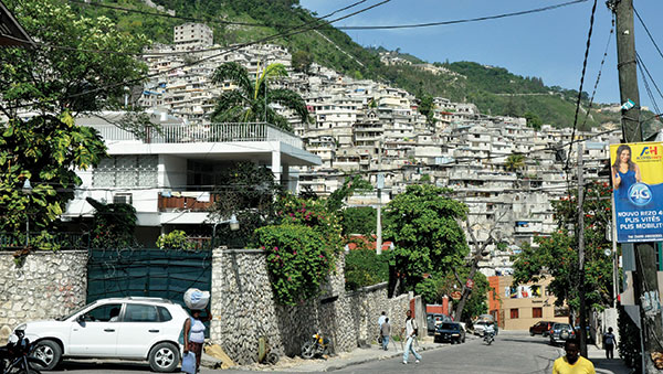 Haiti Homes on Hillside