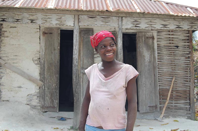 Haiti Smiling Woman