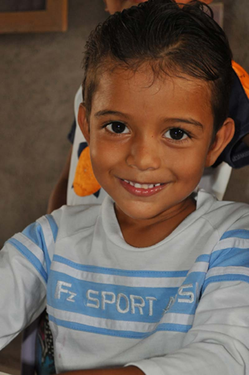 Honduras Smiling Boy