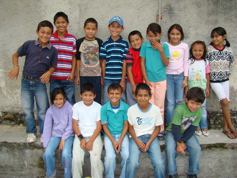 Honduras Smiling Children