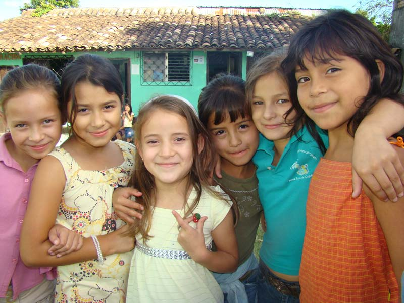 Honduras Smiling Girls